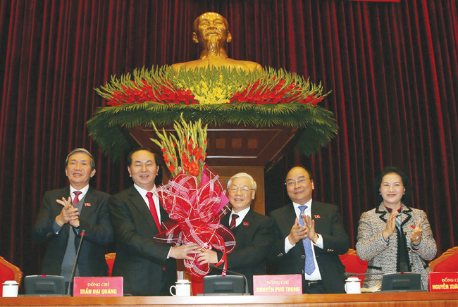 Nguyen Phu Trong re-elected to be Viet Nam Party General Secretary – Politics & Laws – Vietnam News Politics, Business, Economy, Society, Life, Sports
