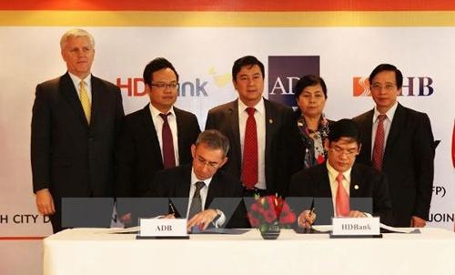 ADB SHB HDBank sign TFP deal