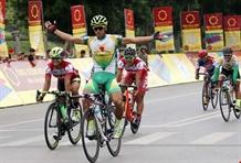 Tâm wins international cyclings fifth stage