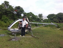 Engineer bucks public controversy makes second homemade helicopter