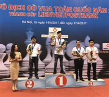Minh An top rapid chess at national championship