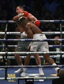 Joshua stops Klitschko in 11th round of heavyweight epic