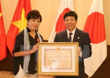Japanese director receives Friendship Medal