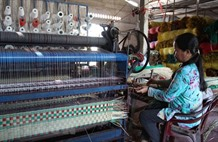 A visit to Định Yên mat making village