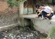 Handicraft village suffers pollution