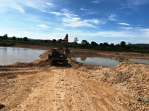 Company fined for illegal sand mining on Đăk Bla River