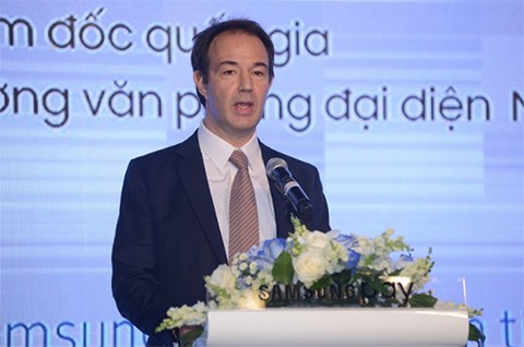 Mr. Arn Vogels, Country Director and Chief Representative of Indochina Mastercard.
