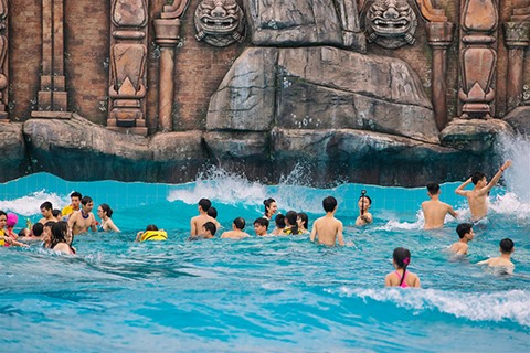 Discovering top games at Sun World Halong Complex - Brand