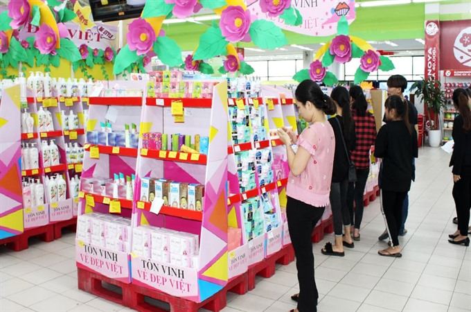 Gift market bursting at the seams for Vietnamese Women's Day
