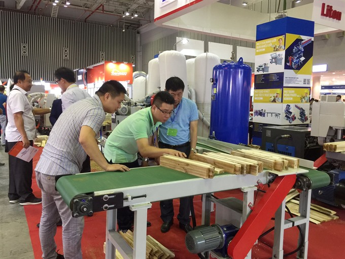 International woodworking fair opens in HCM City