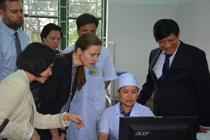 Last April, Danish Minister of Health Ms Ellen Trane Nørby visited Bách Thuận Commune Health Station, Thái Bình Province, one of the 30 stations under the Strategic Sector Cooperation on primary healthcare and non-communicable diseases between Denmark and Việt Nam