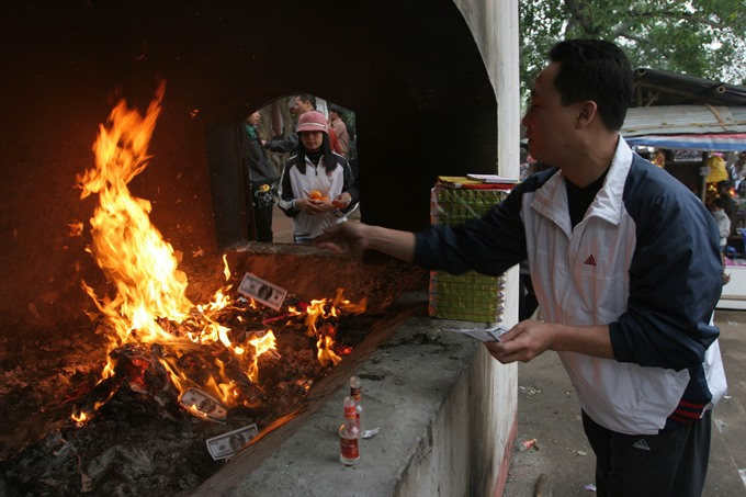Burning offerings a hot topic - Sunday - Vietnam News
