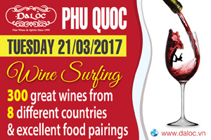 Wine Surfing in Phu Quoc