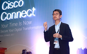 CISCO helps Vietnamese firms in digital transformation