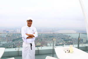 Lotte Hotel Hanoi Chef makes friends in high places