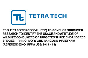 Request for Proposal (RFP) to conduct Consumer Research