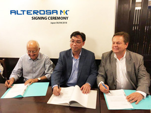 PRESS RELEASE - Partnership agreement between MK Group, Viet Nam, and ALTEROSA, Brazil