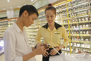 Mobile World plans to change Vietnam fashion watches market