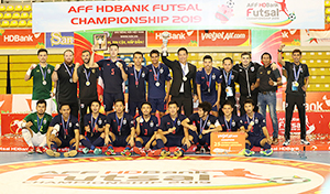 Thailand crowned champion of AFF HDBank Futsal Championship
