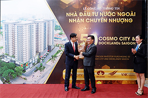 Hong Kong giant invests nearly VND250 billion to buy Cosmo City and Docklands Saigon apartments