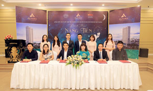 Signing ceremony of strategic partnership of Quy Nhơn Altara Residences project