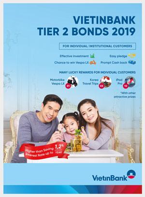 VietinBank Tier-2 Bonds 2019