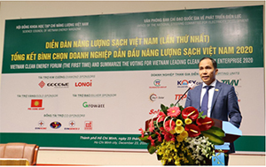 KTG Energy and Longi signed co-operation agreement at Vietnam Clean Energy Forum
