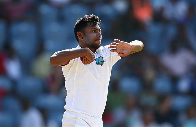 Bishoo Shah set up exciting finish in day-night Test