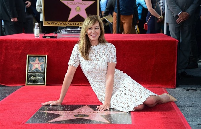 West Wing star Allison Janney honoured by Hollywood