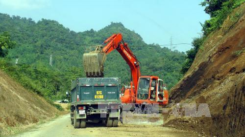 Route reconstruction faces financial difficulties