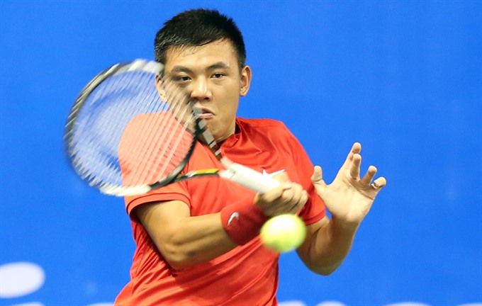 Nam in Thiên out at Mens Futures tourney