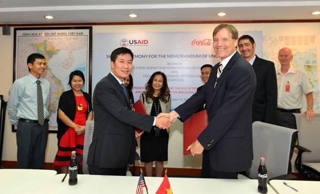 USAID Coca-Cola promote green energy