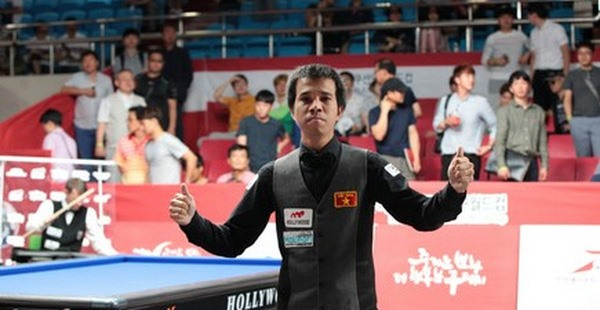 Vietnamese cueists in Carom Billiards 3-Cushion World Cup