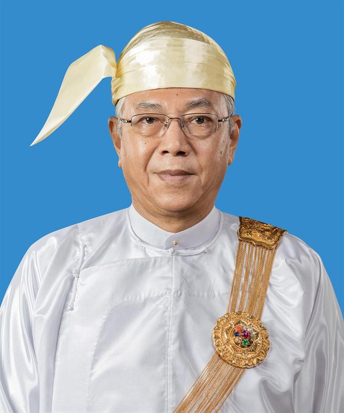Myanmar leader begins VN visit