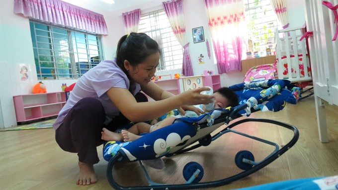 Kindergartens enrolling babies