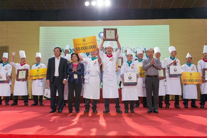 HCM City chefs win Golden Spoon cooking contest semis