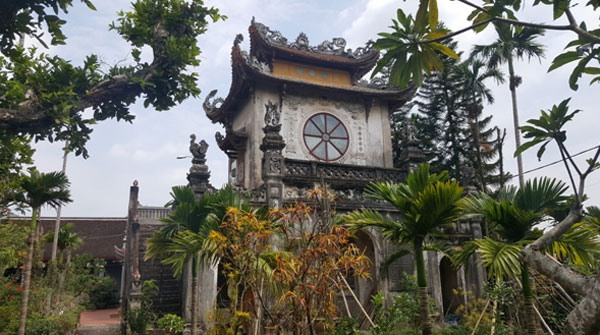 Statue stolen from Mễ Sở Pagoda