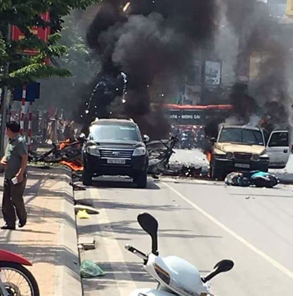 Suicide blast kills two in Quảng Ninh