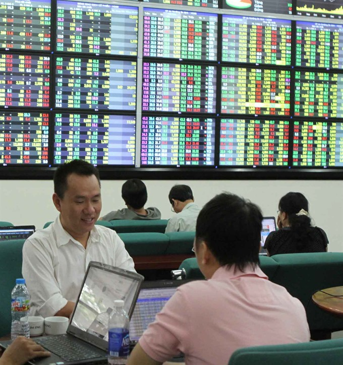 VN shares drop on energy stock