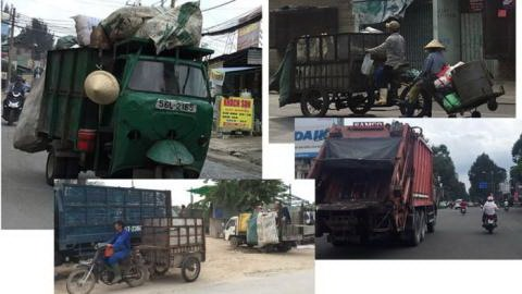 Private garbage vehicles kick up a stink in HCMC