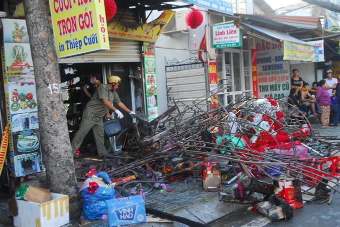 Fire kills three in HCM City