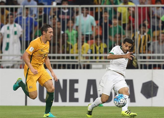 Saudis deny Australia with late equaliser