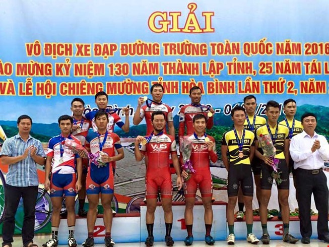 HCM City An Giang win team time trials in cycling