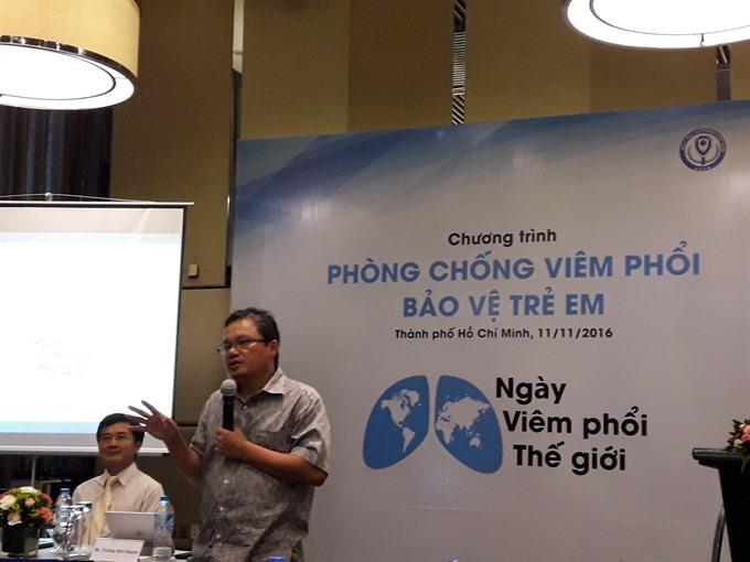 Pneumonia widespread in Viet Nam