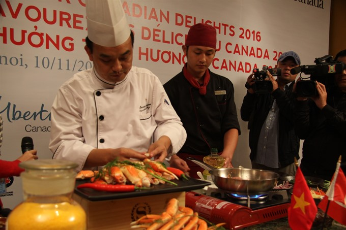 Month of Canadian premium food products kicked off
