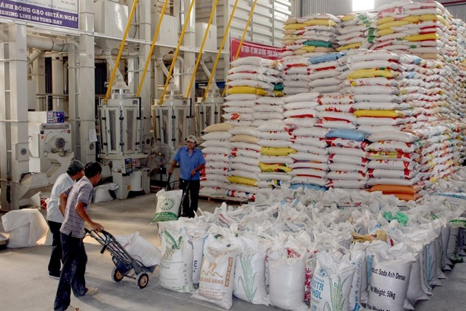 Over one million tonnes of rice left over