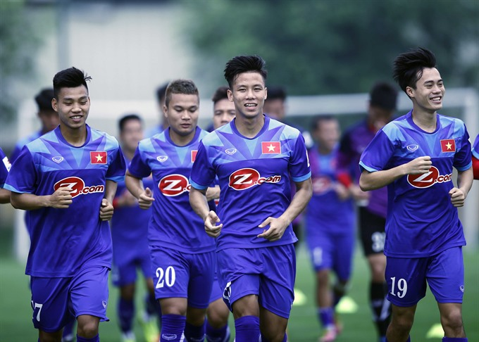 Thắng selects 25 players for AFF Cup