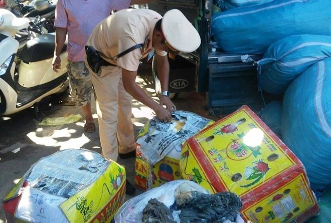1.4 tonnes of stale food seized in Huế