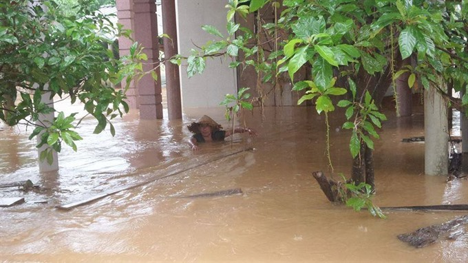 Repeated floods bring Central residents exhaustion