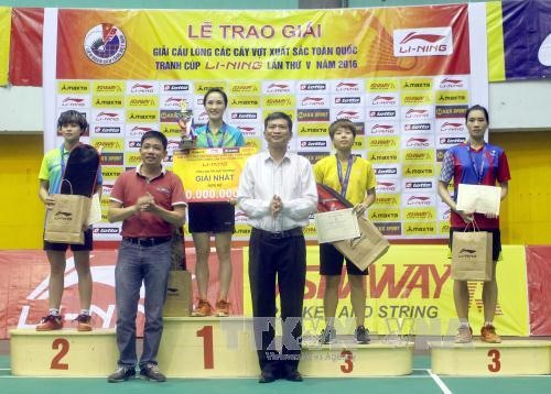 Minh Trang win Best Players titles